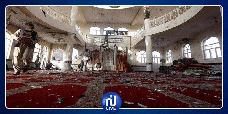 بينهم أطفال: ارتفاع حصيلة ضحايا تفجير مسجد في أفغانستان