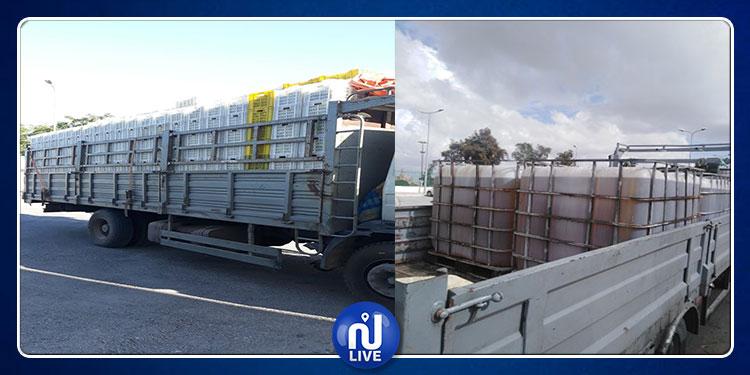القيروان: حجز كمية كبيرة من الزيت المدّعم على متن شاحنة تابعة لمصنع حلويات