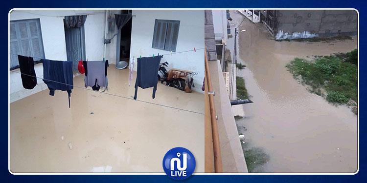 أريانة: تدخلات عاجلة لشفط مياه الأمطار من المنازل والطرقات