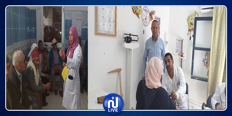 سليانة: حملة لتقصي أمراض السكري وضغط الدّم بمستشفى مكثر (صور)