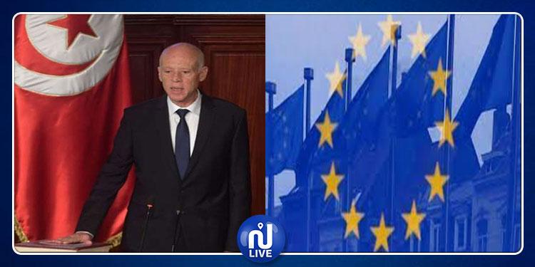 الاتحاد الأوروبي يهنئ رئيس الجمهورية المنتخب قيس سعيد