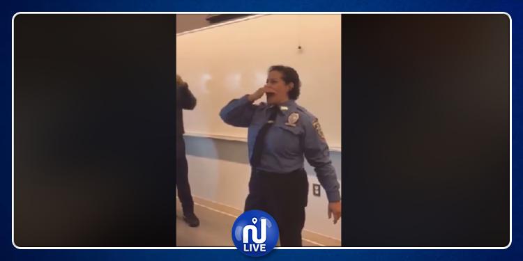 شرطية أمريكية من أصول مغربية تحتفل بترقيتها بالزغاريد (فيديو)