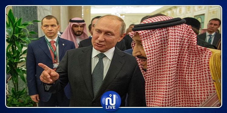 فلاديمير بوتين يقدم هدية للملك السعودي (صور)