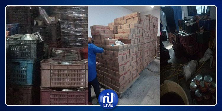 نابل: حجز كمية من الهريسة غير صالحة للإستهلاك (صور)