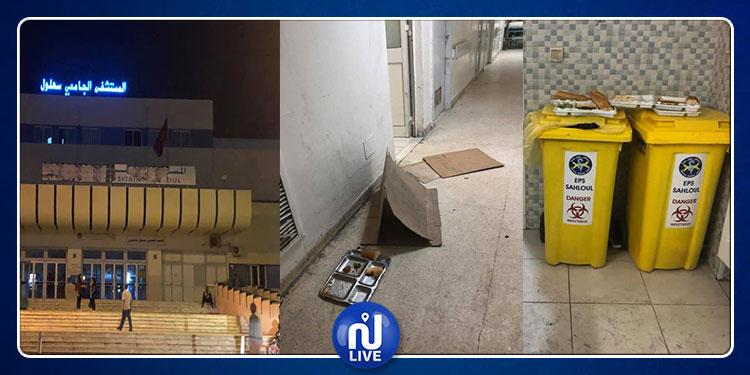 دون حسيب ولا رقيب: اخلالات خطيرة وتجاوزات كثيرة بمستشفى سهلول (صور)