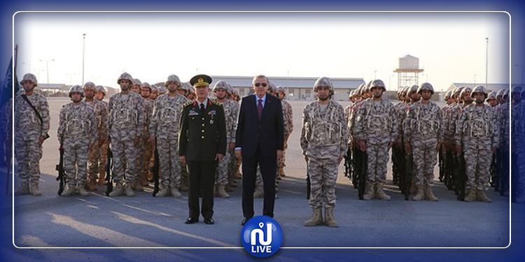 أردوغان يكشف عن اسم الثكنة العسكرية الجديدة في قطر