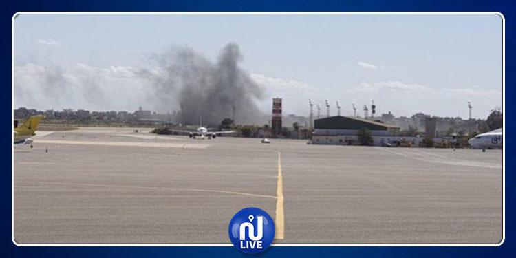ليبيا: قصف جديد لمطار معيتيقة الدولي