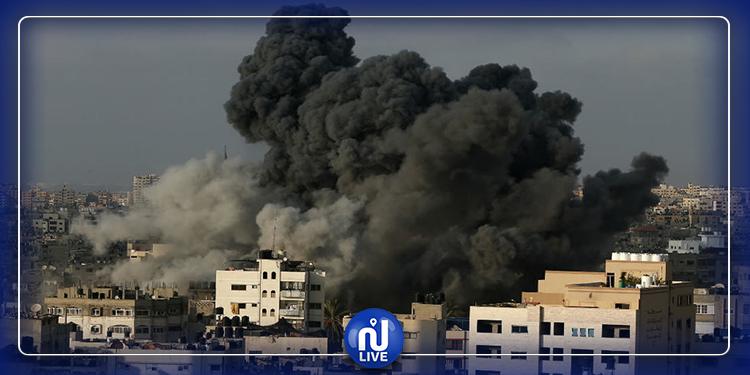 جيش الاحتلال يقصف بيت لاهيا بالصواريخ