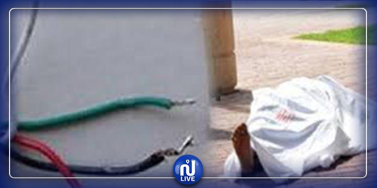 قابس: وفاة كهل نتيجة صعقة كهربائية