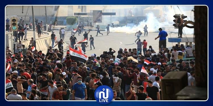 الحكومة العراقية للمحتجين: الإحتجاجات تؤخر وصول المواد الغذائية