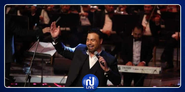 عاصى الحلانى يهز أرجاء المسرح الكبير بدار الأوبرا المصرية