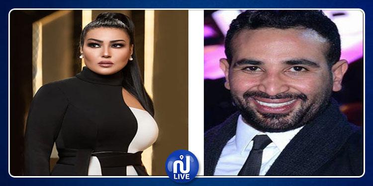 محمد سعد يعلق على سجن طليقته سمية الخشاب