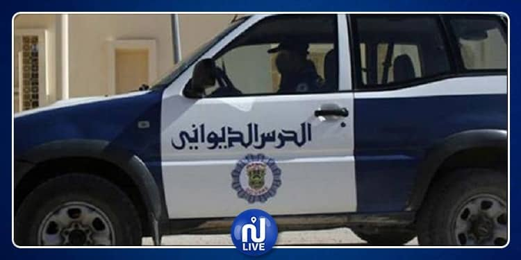 مصالح الحرس الديواني تحجز بضائع مهربة بقيمة 400 ألف دينار