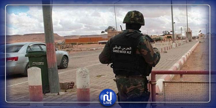 توزر: انقلاب سيارة  تابعة فرقة الحدود البرية للحرس الوطني