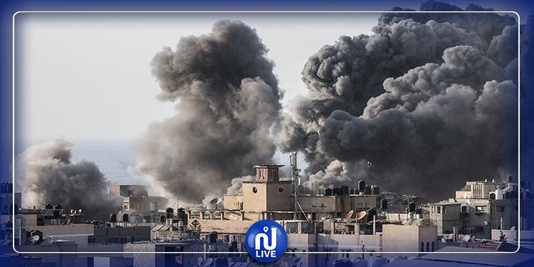 طرابلس: قتلى وجرحى جراء قصف جوي