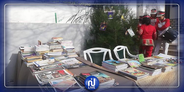 عين دراهم: انطلاق تظاهرة 'سينما الجبل'  وسعر الدخول 'قصة أو كتاب' (صور)