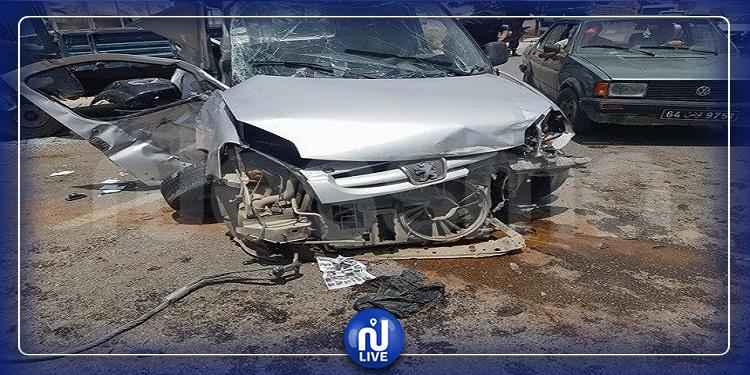 نابل: إصابة 3 مدنيين و4 عسكريين في حادث اصطدام 3 سيارات