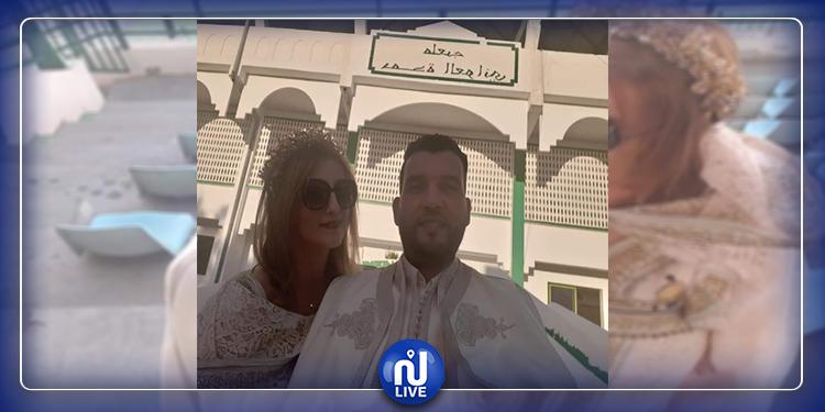 القيروان: عروسان يحتفلان بعقد قرانهما في الملعب (صور)