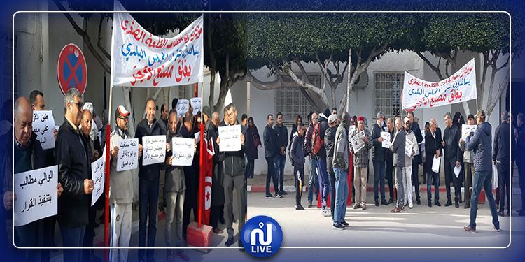 القلعة الصغرى : وقفة احتجاجية تطالب بتنفيذ قرار غلق مصنع الآجر الملوث