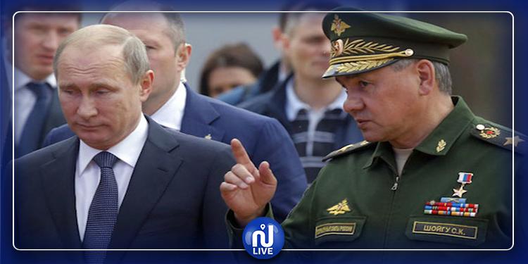 الرئيس الروسي يُقيل 5 جنرالات
