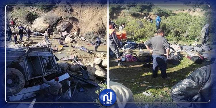 فاجعة عمدون: تشييع جثامين شقيقتين وابنة خالتهما في جدليان