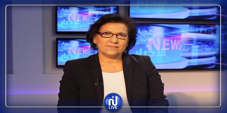 الحقوقية راضية النصراوي تسافر إلى فرنسا لمواصلة العلاج