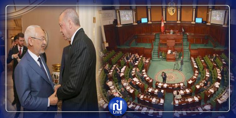 الموافقة على مساءلة الغنوشي بخصوص زيارته إلى تركيا