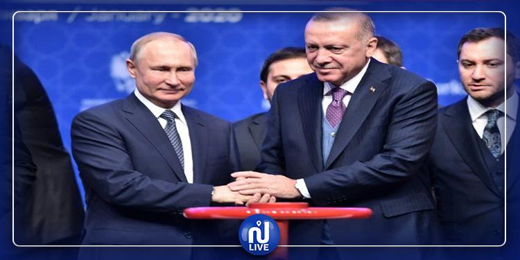 Erdogan et Poutine appellent à un cessez-le-feu en Libye