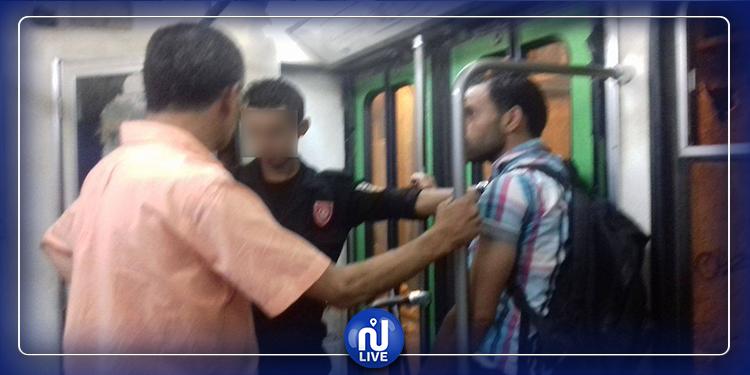 حي الخضراء: ضبط 3 شبان متلبسين بافتكاك هاتف ممرضة في المترو