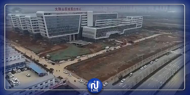 أُنجز خلال أيام..افتتاح مستشفى علاج 'الكورونا' في الصين  (فيديو)