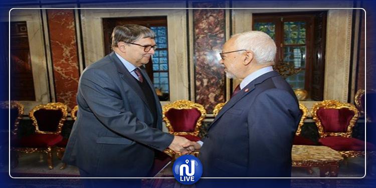 Le conflit libyen au centre d'une rencontre entre Ghannouchi et l'ambassadeur russe