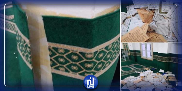 سبيطلة: مختل عقلي يقتحم مسجد العبادلة  ويمزق المصاحف القرآنية