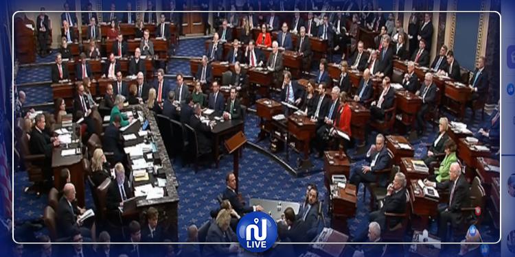 مجلس الشيوخ الأميركي: تبرئة ترامب من التهمة الأولى في قضية عزله