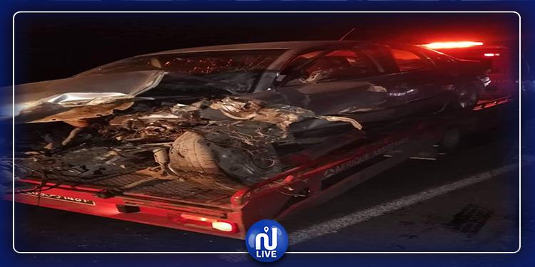 القصرين: حادث مرور يسفر عن 3 قتلى