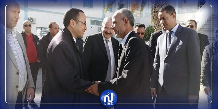 وزير التربية يزور القصرين ويعزي عائلات ضحايا حادث بولعابة