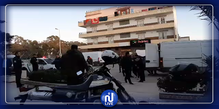 مداهمات وإيقافات..حملة أمنية كبرى بنابل (فيديو)