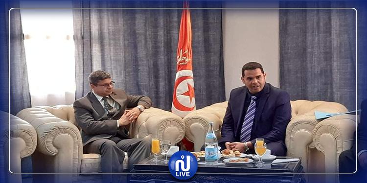 سفير الهند بتونس يزور قبلي