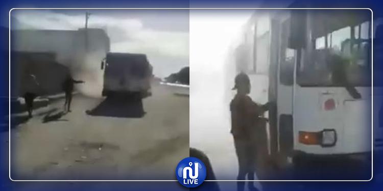 يشكو من اضطرابات نفسية..شاب يستولي على حافلة في القيروان ويلوذ بالفرار