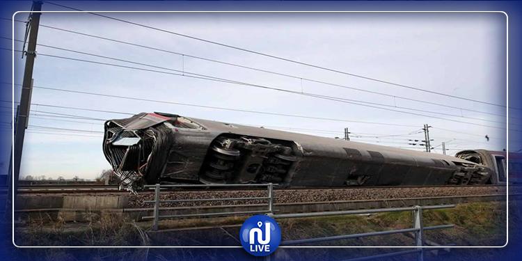 Milan: plusieurs morts dans le déraillement d'un train (Photos)