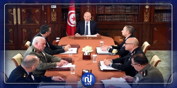 Coronavirus : Réunion, mardi, du Conseil de sécurité nationale
