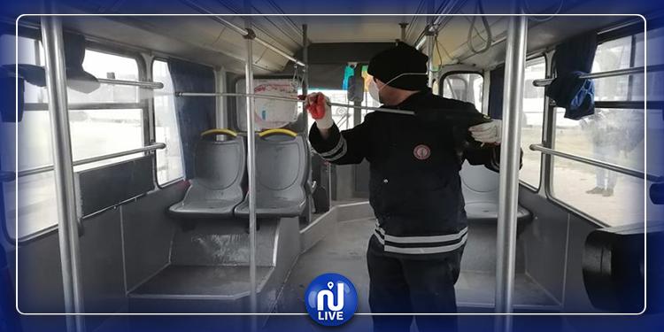 قفصة:  الشركة الجهوية للنقل  تٌعقم 12 حافلة من أسطولها