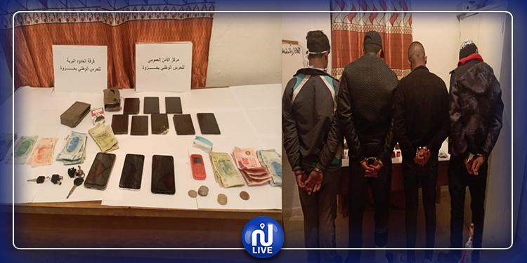 حزوة: القبض على عصابة تستغل الحجر الصّحي لترويج الزطلة (صور)