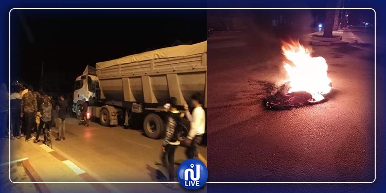 سيدي بوزيد: احتجاجات بمعتمدية المكناسي (صور)