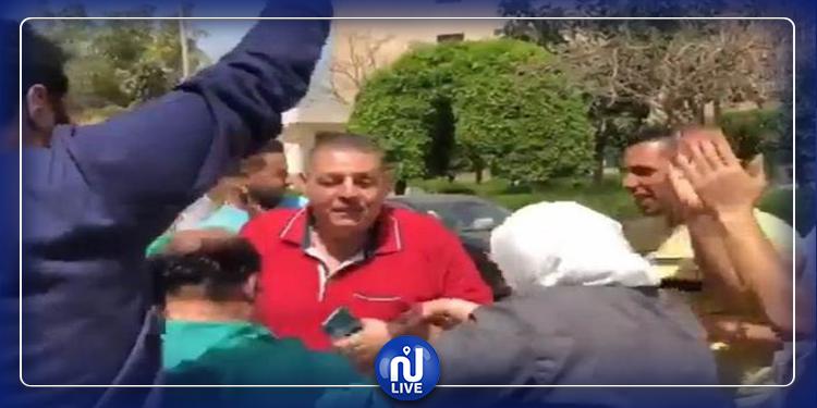 رقص مع متعافين من كورونا..إعفاء مدير مستشفى في مصر  (فيديو)