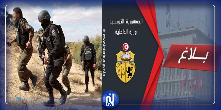 الداخلية تكشف تفاصيل القضاء على عنصرين إرهابيين بجبال القصرين