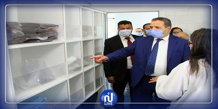 وزير الصّحة يزور مركز الاسعاف الطبي الإستعجالي والإنعاش بتونس(صور)