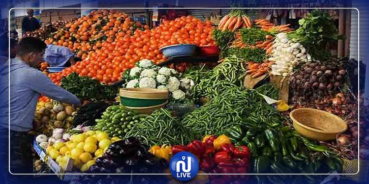 Les produits agricoles sont disponibles en quantités nécessaires