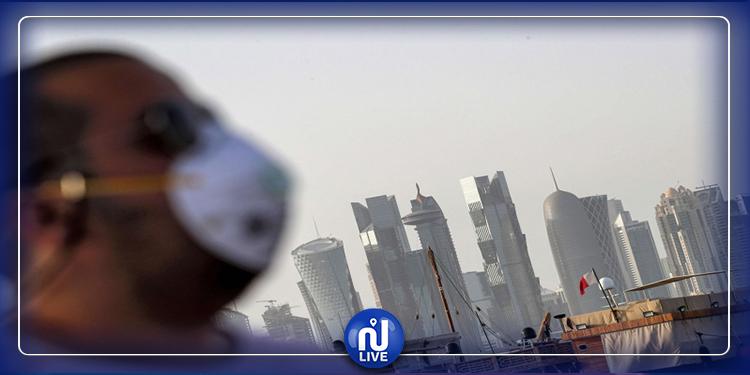 السجن  وخطية مالية لمن يخرج من بيته دون كمامة في قطر