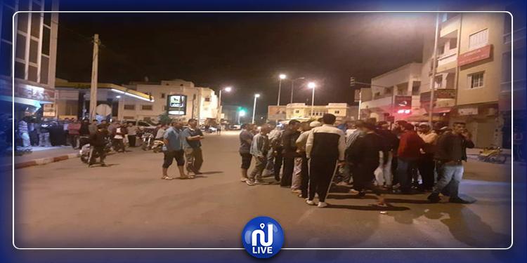 تطاوين : مداهمات أمنية و حالة احتقان بعد موعد الإفطار