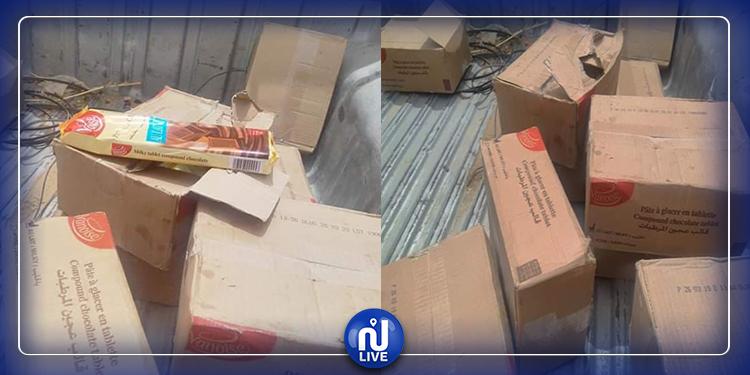 بن قردان: حجز شكلاطة منتهية الصلوحية معدّة لصنع حلويات العيد